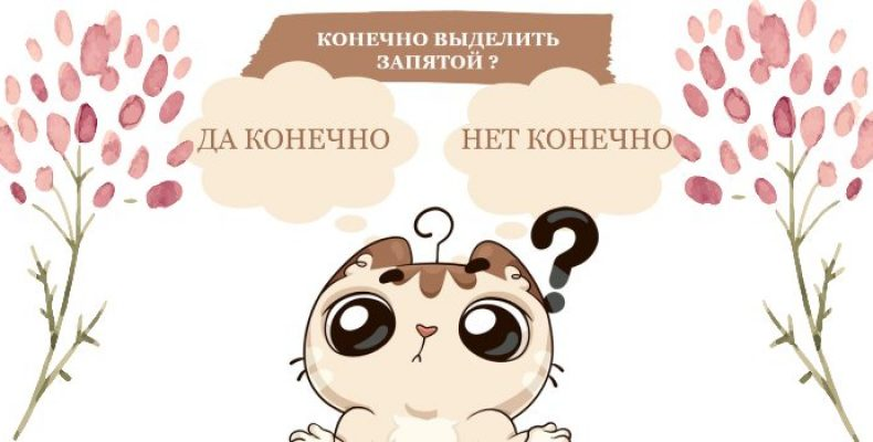 «Да конечно» или «нет конечно» выделяется запятыми или нет ?
