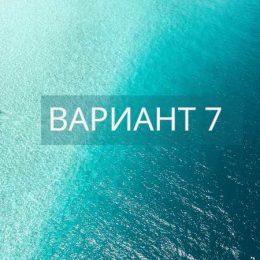 Вариант 7 ЕГЭ по русскому языку